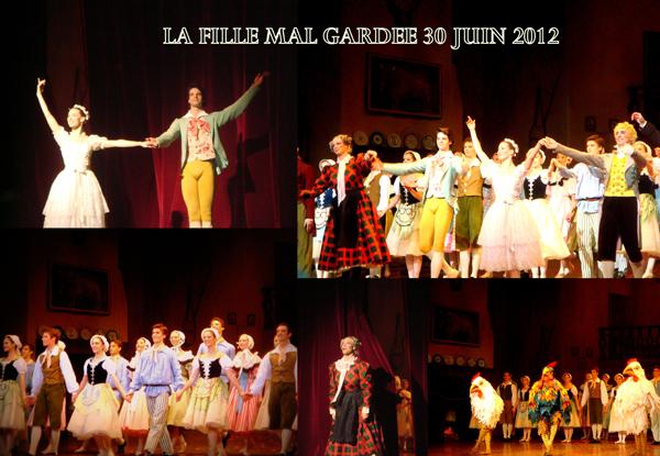 La Fille Mal Gardée – 30/06/2012