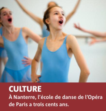 Un reportage sur l'Ecole de Danse de l'Opéra dans Hauts de Seine Magazine