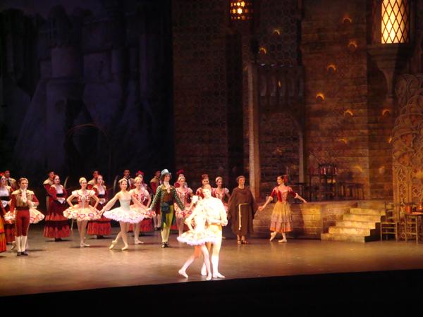 Don Quichotte -Karl Paquette et Ludmila Pagliero
