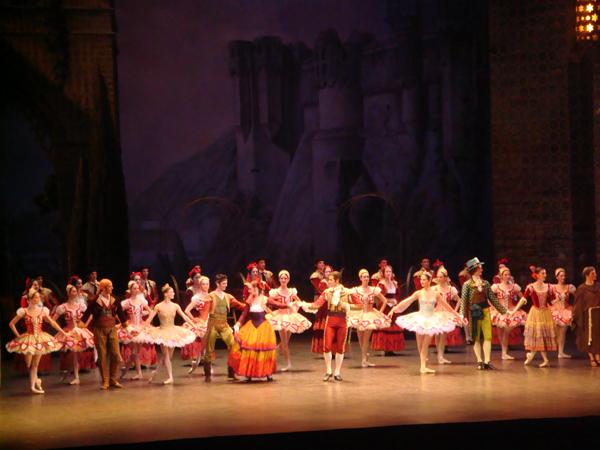 Don Quichotte - Salut des Artistes