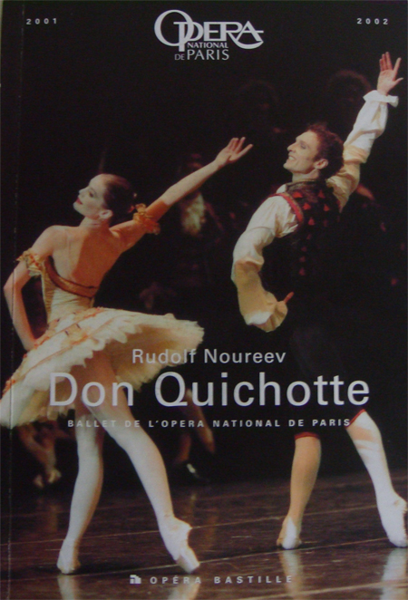 Don Quichotte - Couverture du Programme 2002