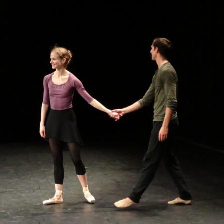 Répétition de Daphnis et Chloé avec Benjamin Millepied (26 avril)