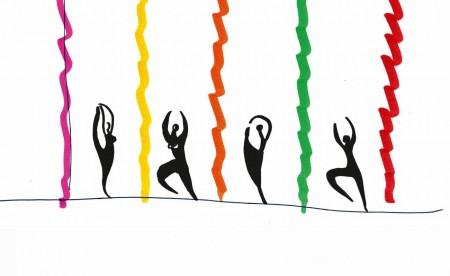 Visuel de la soirée Balanchine-Millepied