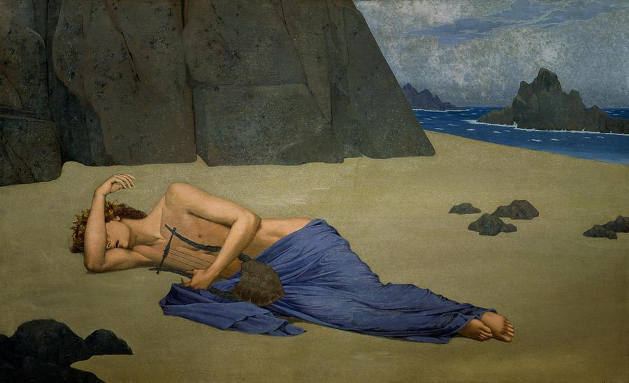 Alexandre Séon - Lamentation d'Orphée