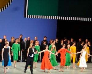 Saluts à l'issue de la représentation de Daphnis et Chloé