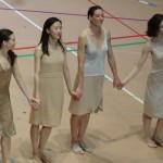 Muriel Zusperreguy, Sae Eun Park, Amélie Lamoureux et Laura Bachman
