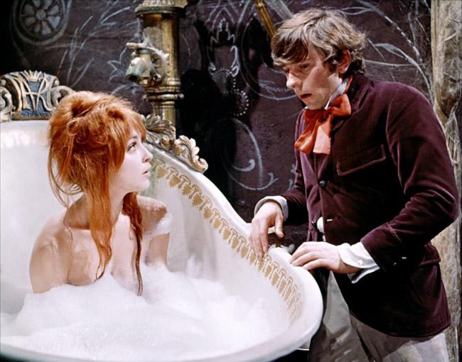 Sharon Tate et Roman Polanski dans le Bal des Vampires en 1967