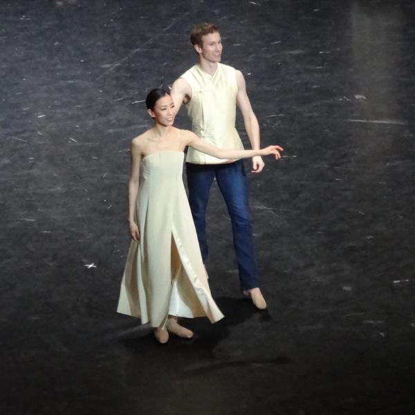 Sae Eun Park et Fabien Revillion