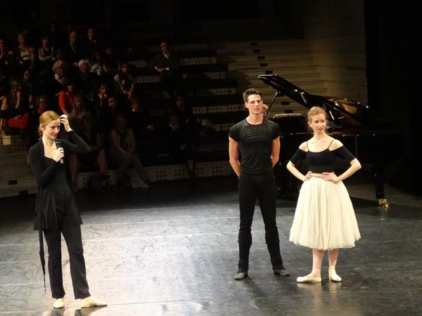 Agnès Letestu, Germain Louvet et Myriam Ould-Braham