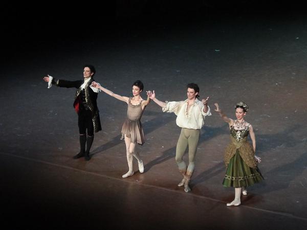 Alessio Carbone, Dorothée Gilbert, Josua Hoffalt et Muriel Zusperreguy