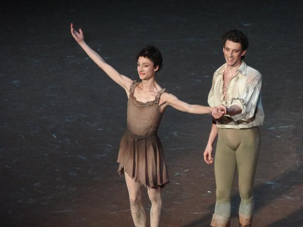 Dorothée Gilbert et Josua Hoffalt