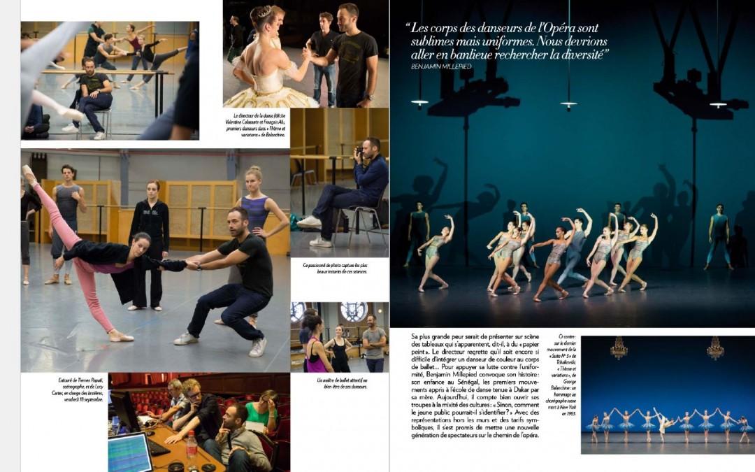 La rentrée de l'Opéra de Paris à la Une de Paris Match