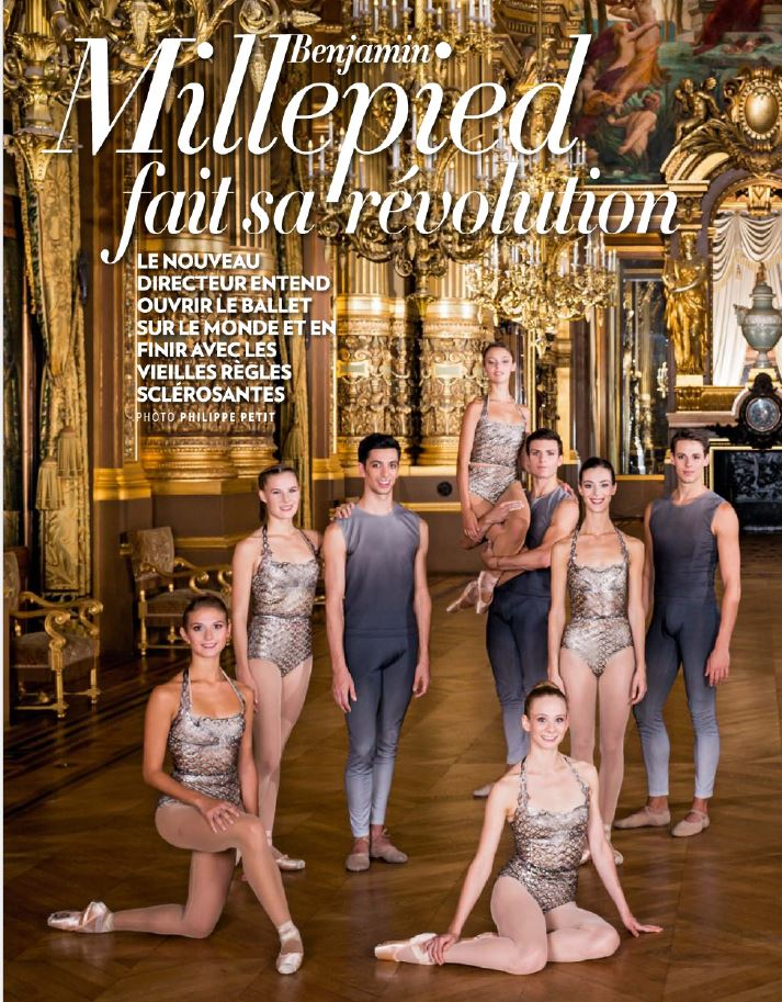 Paris Match_Millepied_Cover