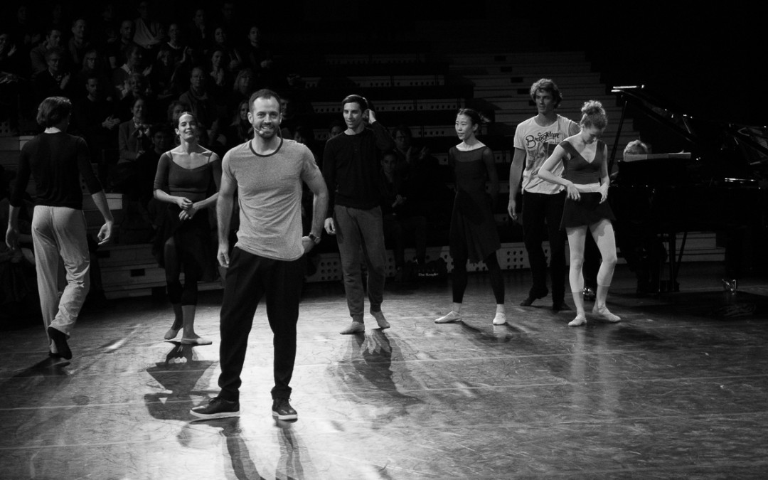Benjamin Millepied en répétition – La Nuit s'achève (23 janvier)