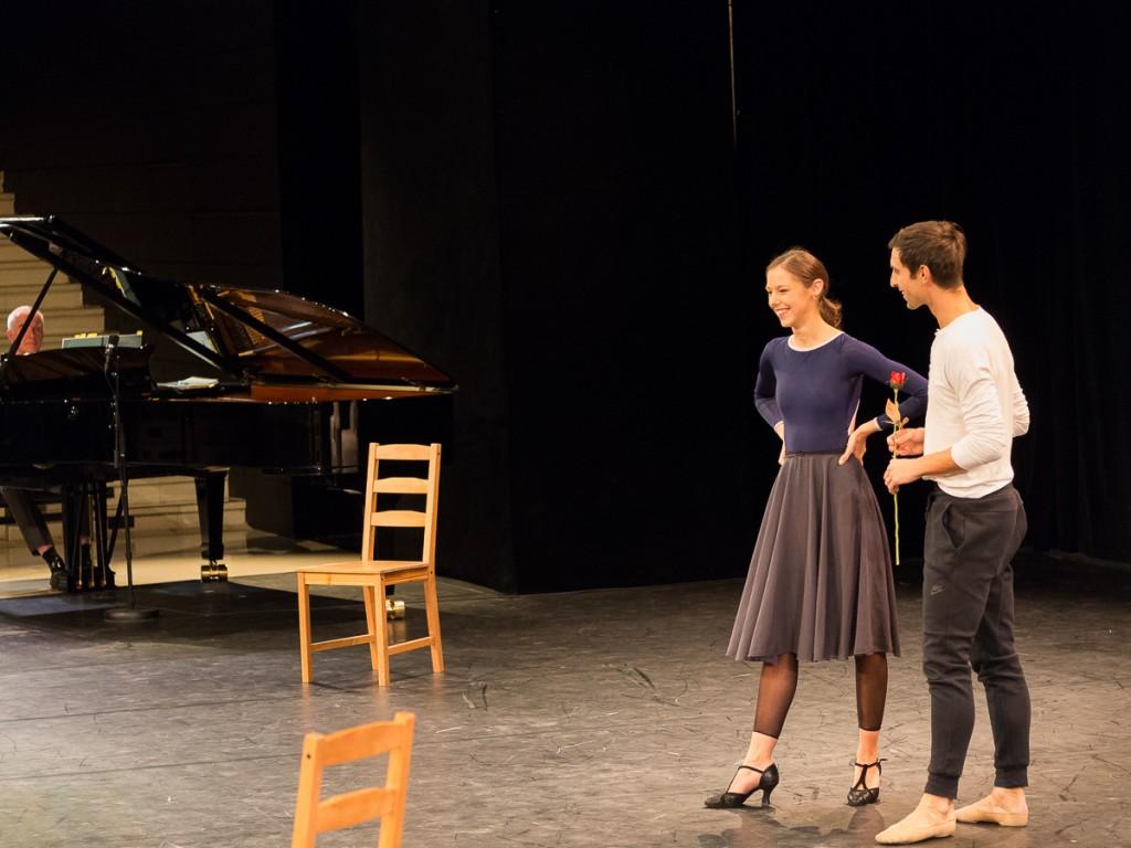Marion Barbeau et Marc Moreau