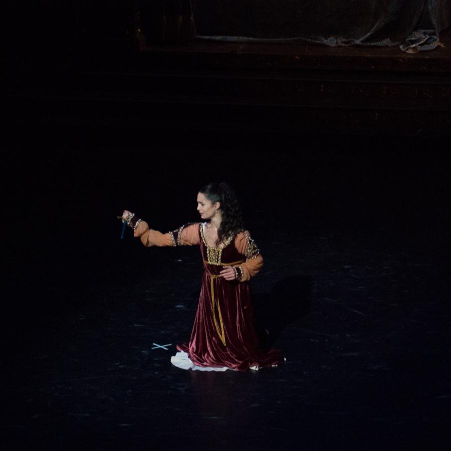 Amandine Albisson, Juliette forte