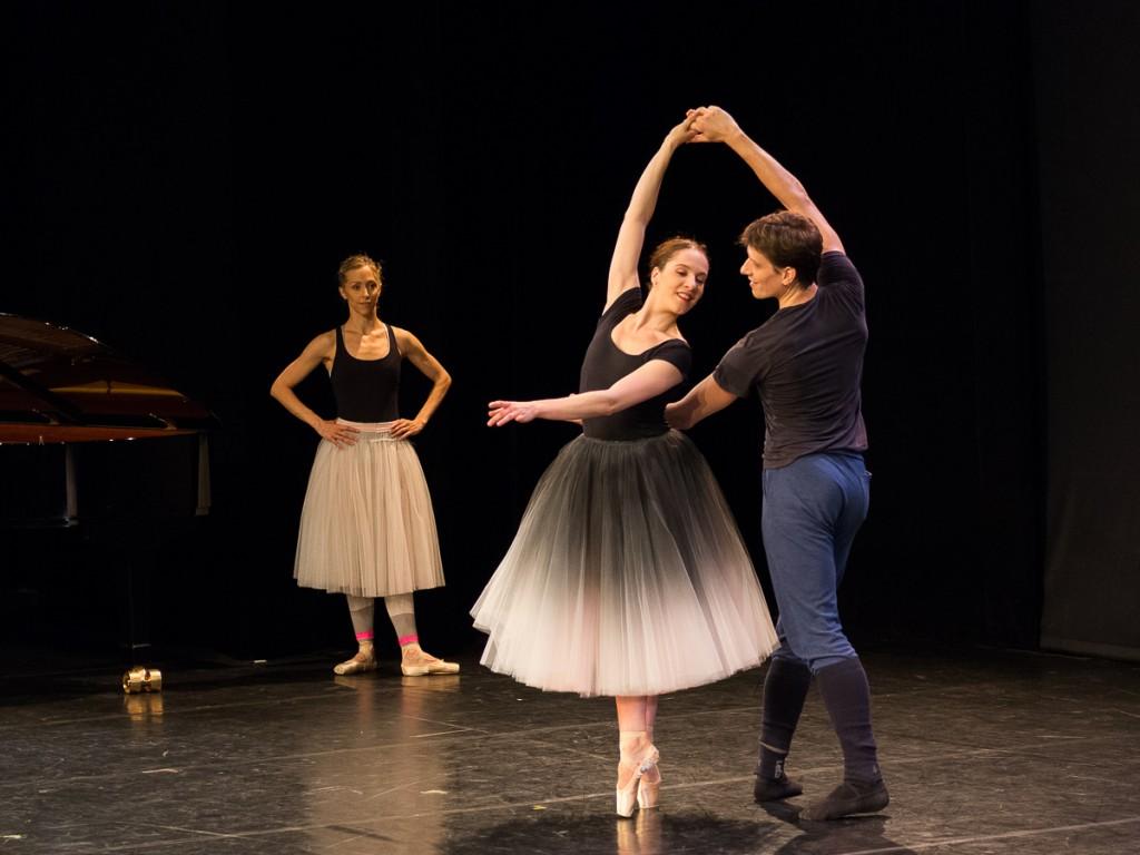Valentine Colasante et Yann Chailloux sous les yeux de Séverine Westermann