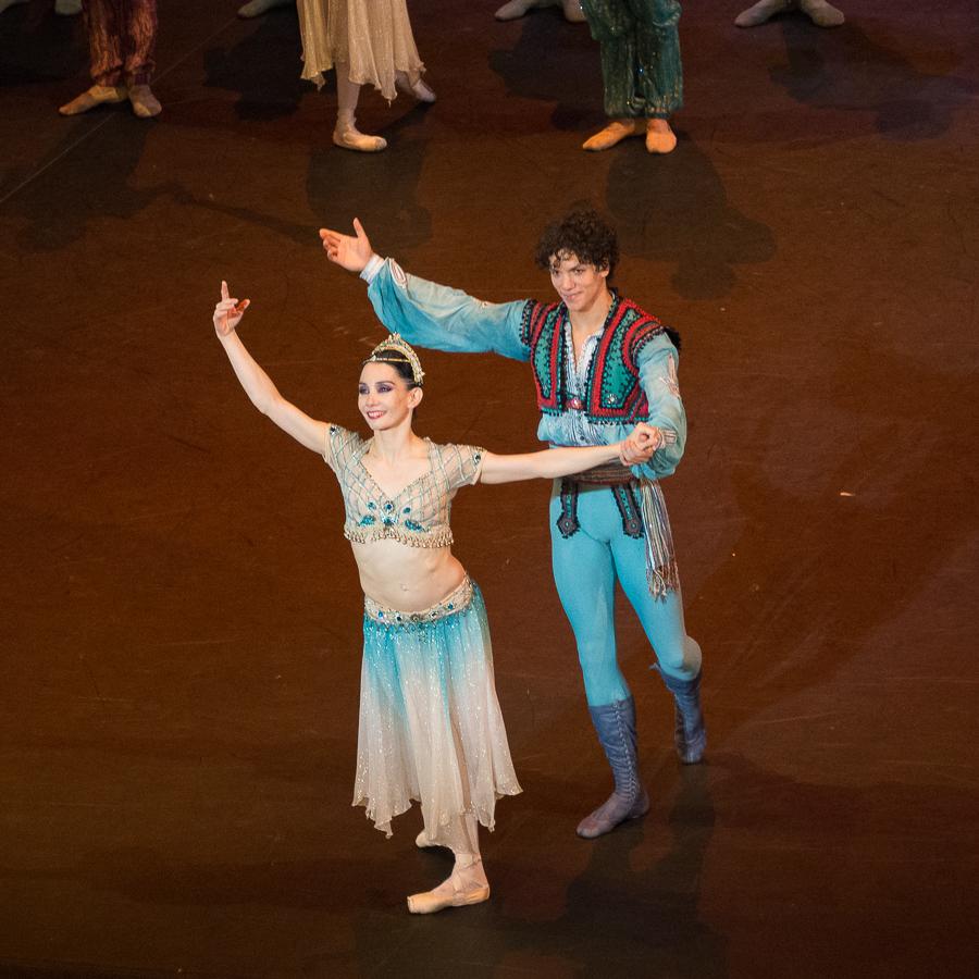 Tamara Rojo et Isaac Hernandez