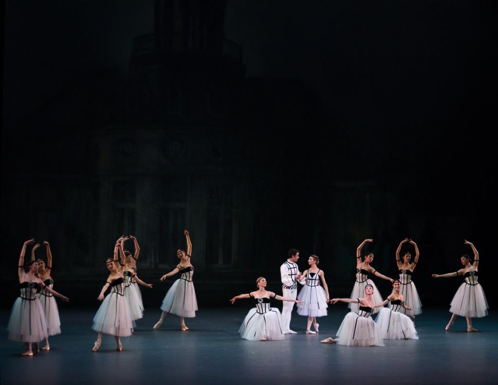 L'art du tableau chorégraphique par Balanchine