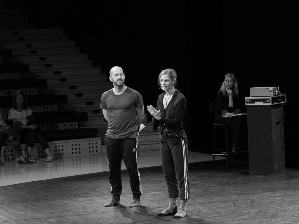 Questions - Réponses avec Crystal Pite et son collaborateur Eric Beauchesne