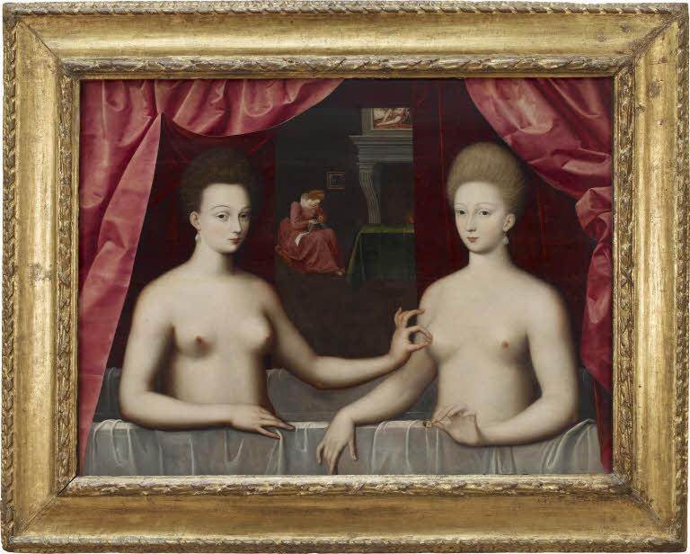 Inspiration ? Portrait présumé de Gabrielle d'Estrées