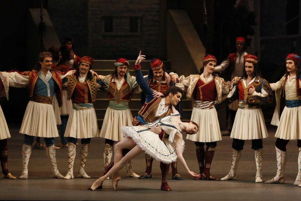 Ekaterina Krysanova et Igor Tsvirko  Copyright photo : Théâtre du Bolchoï