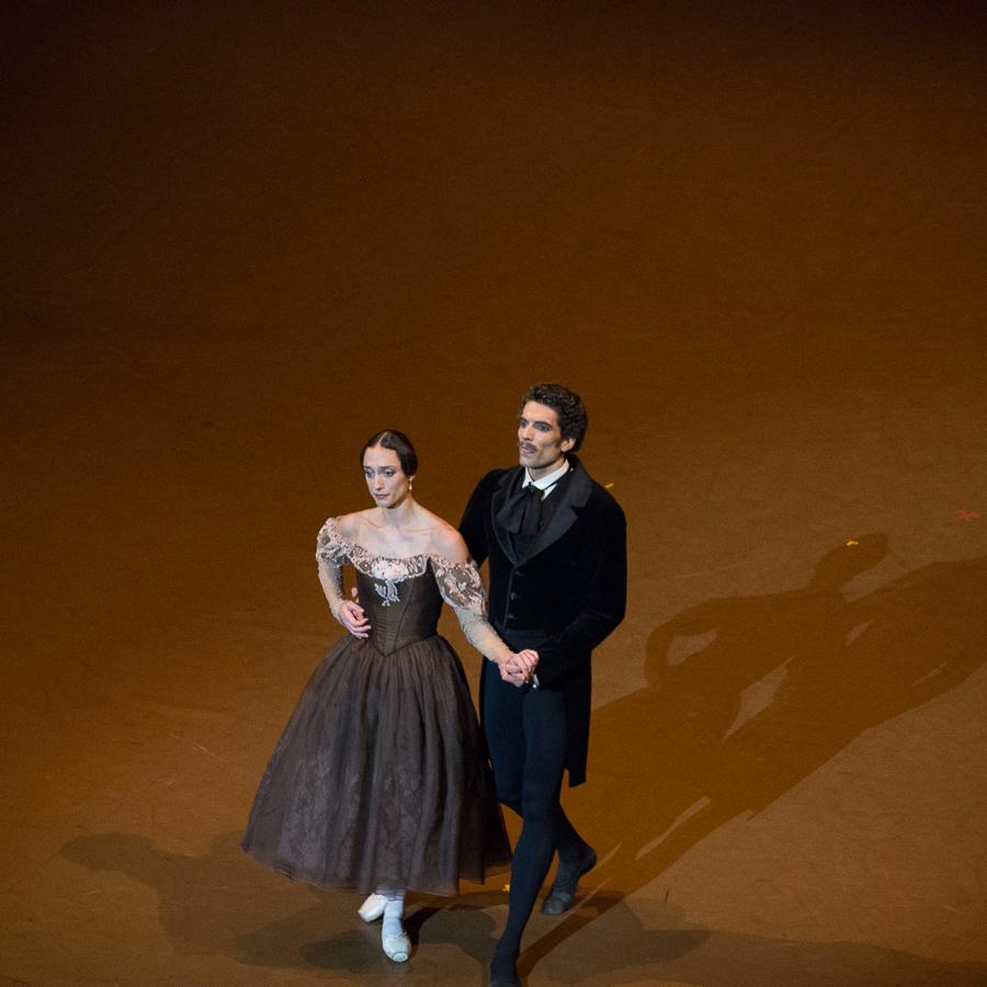 Dorothée Gilbert et Audric Bezard