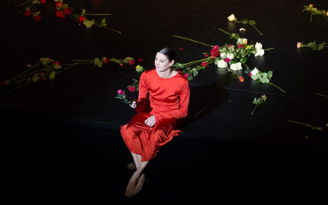 Les adieux de Marie-Agnès Gillot
